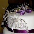 Wedding cake for Christina and Stephen