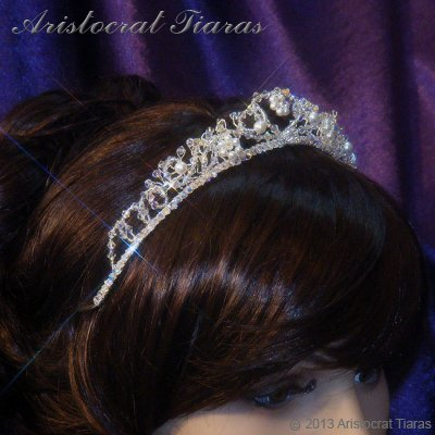 Countess Regina handmade Swarovski wedding tiara picture 10