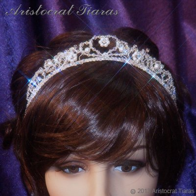 Countess Regina handmade Swarovski wedding tiara picture 11