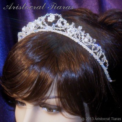 Countess Regina handmade Swarovski wedding tiara picture 12