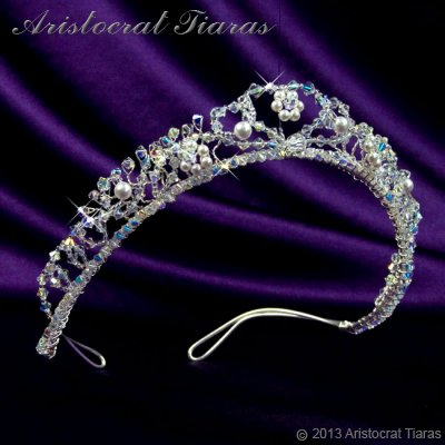 Countess Regina handmade Swarovski wedding tiara picture 2