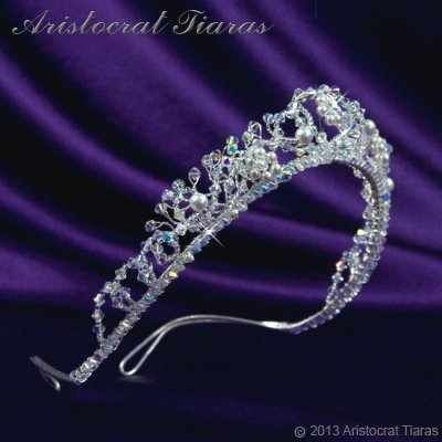Countess Regina handmade Swarovski wedding tiara picture 3