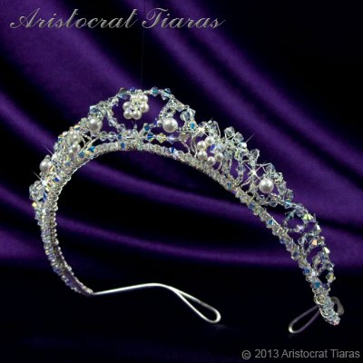 Countess Regina handmade Swarovski wedding tiara picture 4