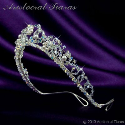 Countess Regina handmade Swarovski wedding tiara picture 5