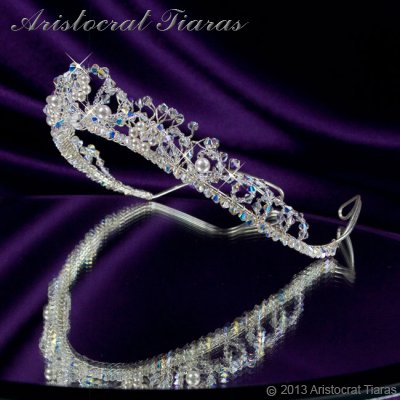 Countess Regina handmade Swarovski wedding tiara picture 6