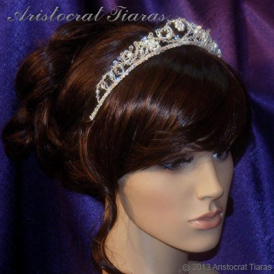 Countess Regina handmade Swarovski wedding tiara picture 7