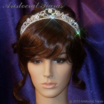 Countess Regina handmade Swarovski wedding tiara picture 8