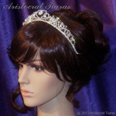 Countess Regina handmade Swarovski wedding tiara picture 9