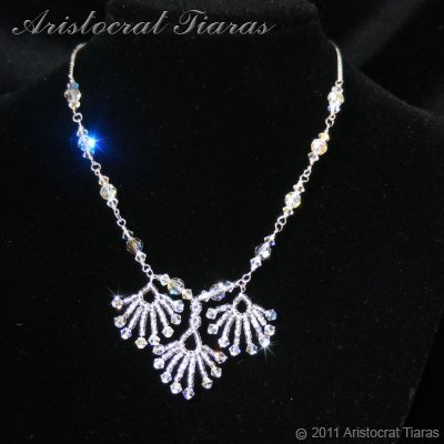 Lady Victoria pheonix handmade Swarovski necklace picture 1