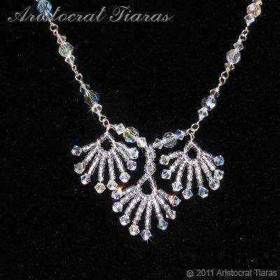 Lady Victoria pheonix handmade Swarovski necklace picture 3