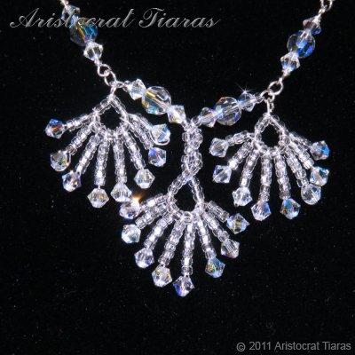 Lady Victoria pheonix handmade Swarovski necklace picture 4