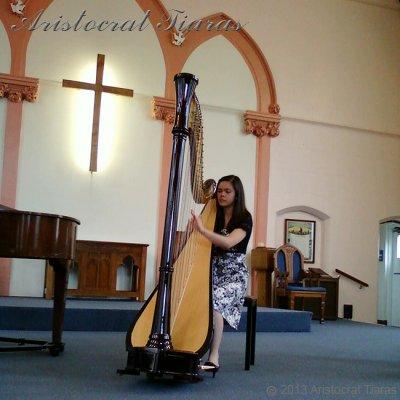 Harpist Glenda Allaway picture 6