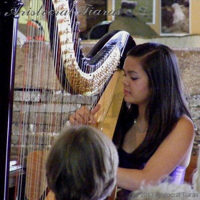 Harpist Glenda Allaway picture 8