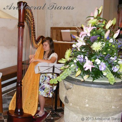Harpist Hannah Allaway picture 5