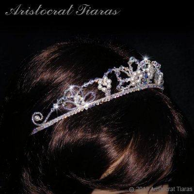 Lady Isabella blossom handmade bridal tiara picture 10