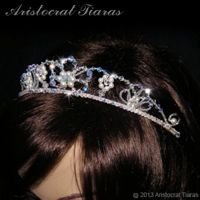 Lady Isabella blossom handmade bridal tiara picture 12
