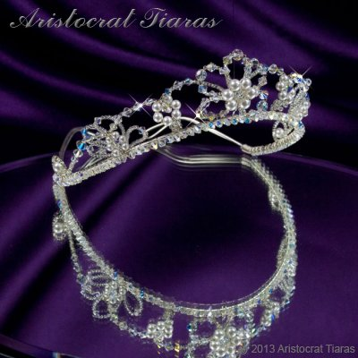 Lady Isabella blossom handmade bridal tiara picture 2
