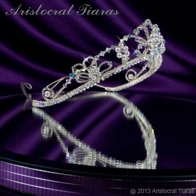 Lady Isabella blossom handmade bridal tiara picture 3