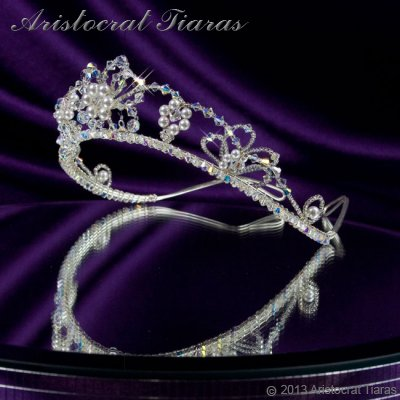 Lady Isabella blossom handmade bridal tiara picture 5