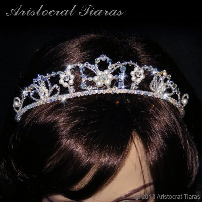 Lady Isabella blossom handmade bridal tiara picture 6