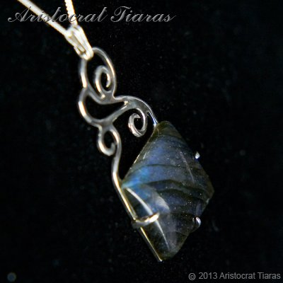 Lady Josephine 925 silver Labradorite Necklace picture 4