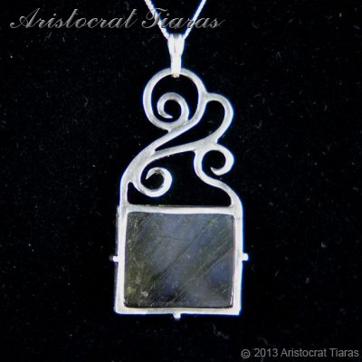Lady Josephine 925 silver Labradorite Necklace picture 8