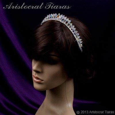 Princess Carmina handmade Swarovski bridal tiara picture 10