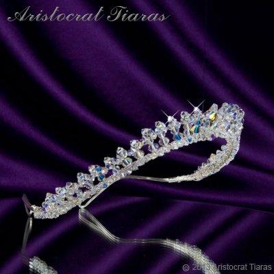 Princess Carmina handmade Swarovski bridal tiara picture 5