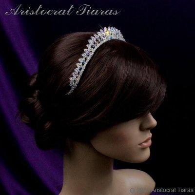 Princess Carmina handmade Swarovski bridal tiara picture 9