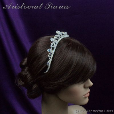 Princess Eleanor handmade Swarovski bridal tiara picture 10