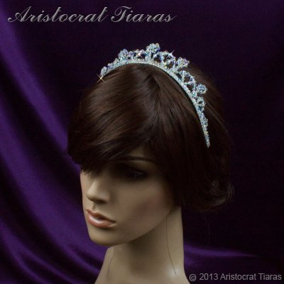 Princess Eleanor handmade Swarovski bridal tiara picture 11