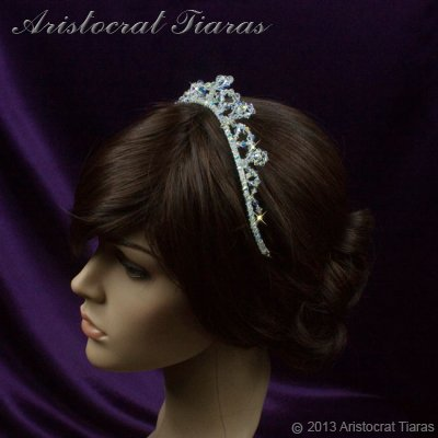 Princess Eleanor handmade Swarovski bridal tiara picture 12