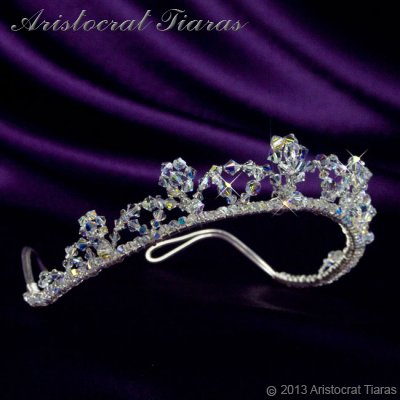 Princess Eleanor handmade Swarovski bridal tiara picture 2