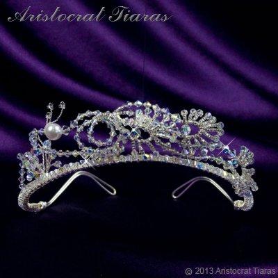 Princess Jasmine phoenix hadmade Swarovski tiara - click for supersize image