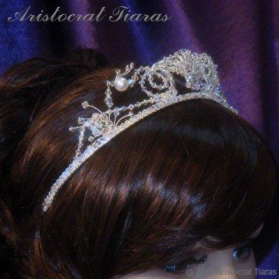 Princess Jasmine phoenix hadmade Swarovski tiara picture 10