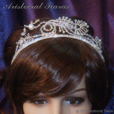 Princess Jasmine phoenix hadmade Swarovski tiara picture 11