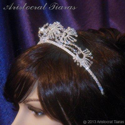 Princess Jasmine phoenix hadmade Swarovski tiara picture 12