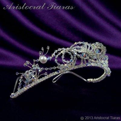Princess Jasmine phoenix hadmade Swarovski tiara picture 2