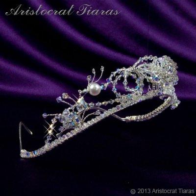 Princess Jasmine phoenix hadmade Swarovski tiara picture 3