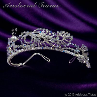 Princess Jasmine phoenix hadmade Swarovski tiara picture 4