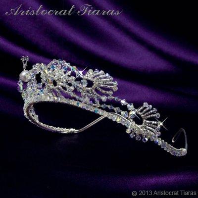 Princess Jasmine phoenix hadmade Swarovski tiara picture 5