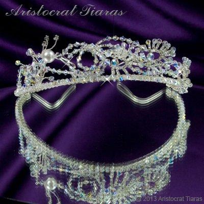 Princess Jasmine phoenix hadmade Swarovski tiara picture 6