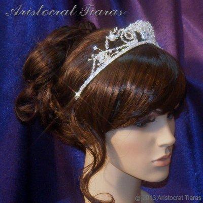 Princess Jasmine phoenix hadmade Swarovski tiara picture 7