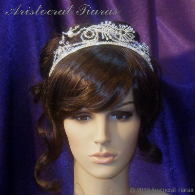 Princess Jasmine phoenix hadmade Swarovski tiara picture 8