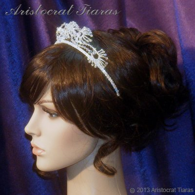Princess Jasmine phoenix hadmade Swarovski tiara picture 9