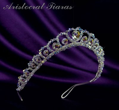 Princess Sophie handmade Swarovski wedding tiara picture 2