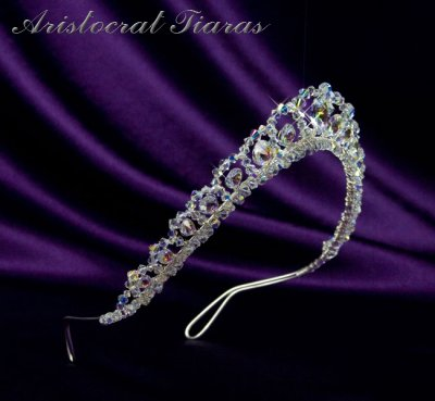 Princess Sophie handmade Swarovski wedding tiara picture 3