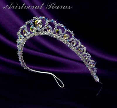 Princess Sophie handmade Swarovski wedding tiara picture 4