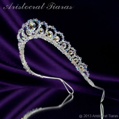 Princess Sophie handmade Swarovski wedding tiara picture 5