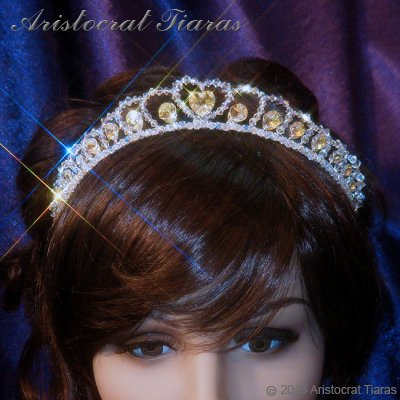 Princess Sophie handmade Swarovski wedding tiara picture 6